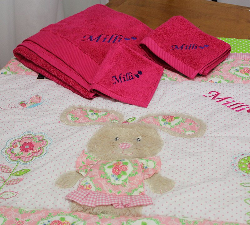 Gift Ideas Embroidered Towels Baby Sheets Apparel Ace