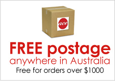 Free postage anywhere in Australia for orders over $1000.